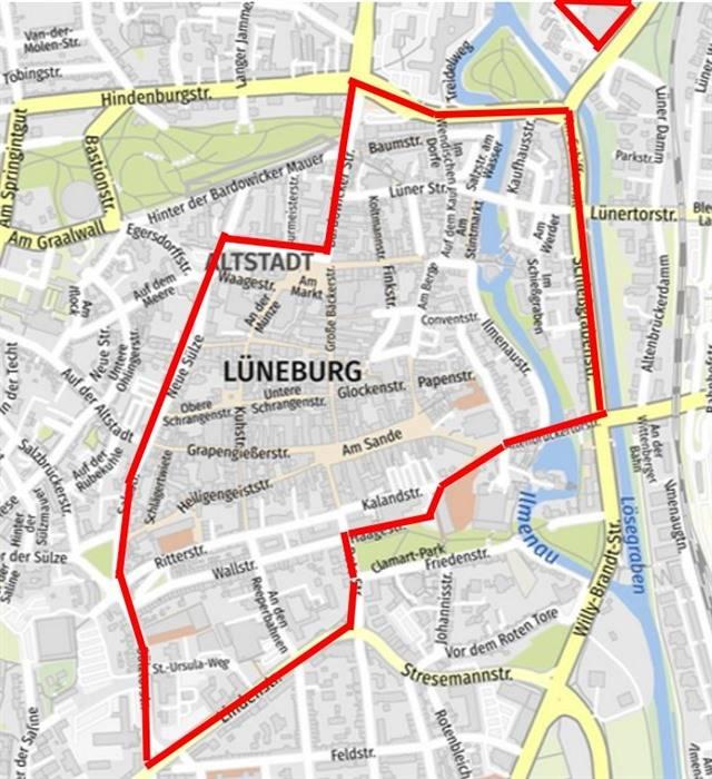 Lüneburg Öffnung Sichere Zone